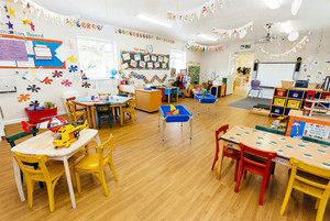 Inside the pre-school unit